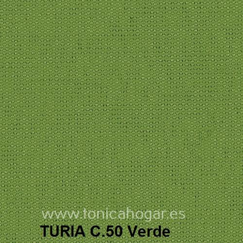 Cojín TURIA de Cañete C.50 Verde Cojín 50x70