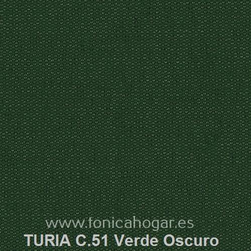 Cojín TURIA de Cañete C.51 Verde_Oscuro Cojín 50x70