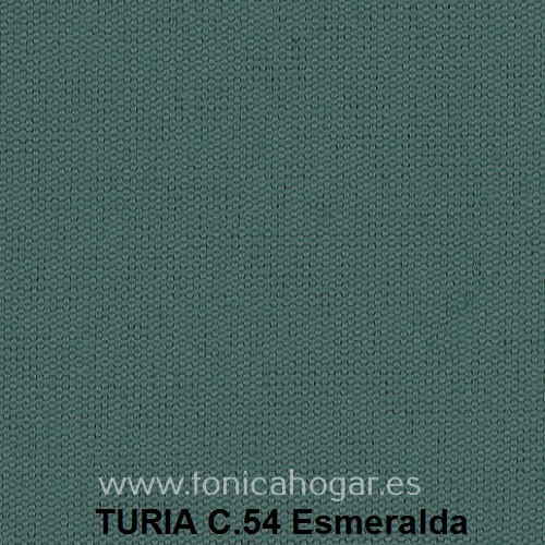 Cojín TURIA de Cañete C.54 Esmeralda Cojín 50x70