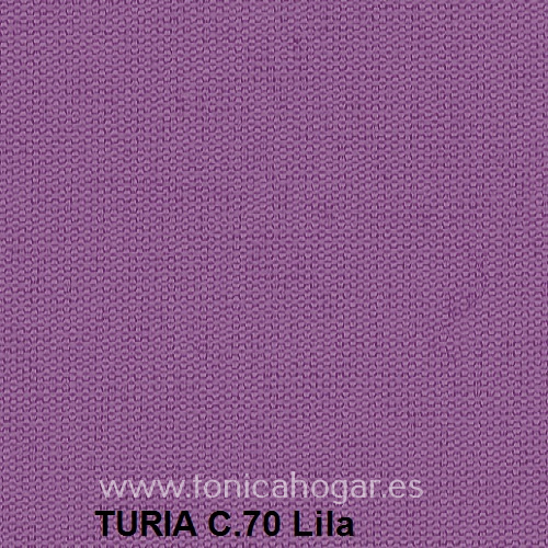 Cojín TURIA de Cañete C.70 Lila Cojín 50x70