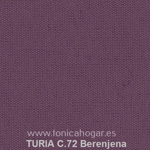 Cojín TURIA de Cañete C.72 Berenjena Cojín 50x70
