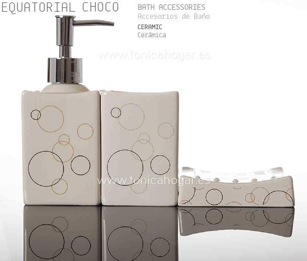 Accesorios de Baño EQUATORIAL CHOCO ACB de Sorema