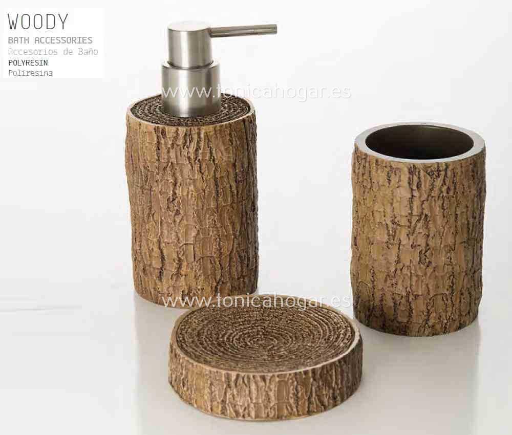 Accesorios de Baño WOODY ACB de Sorema