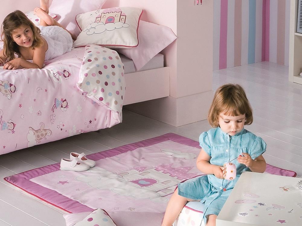 comprar Alfombra Infantil GENNY 3 ROSA de Scenes online