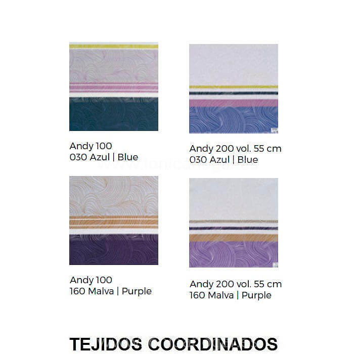 Tejidos coordinados Cojín ANDY CT Tejidos J.V.R.
