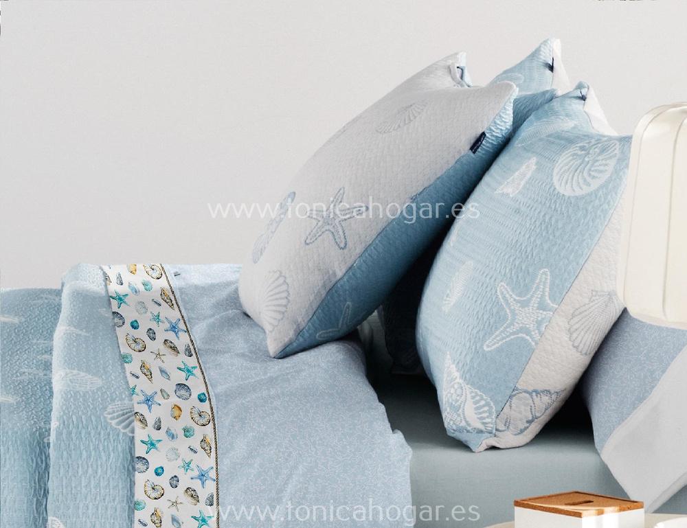 Comprar Cojín CHESNA Azul de Cañete online
