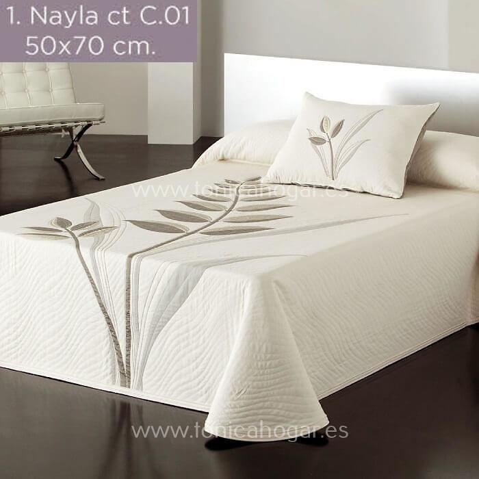 Cojines coordinados Cojín Reversible NAYLA C.01 Lino de Reig Marti