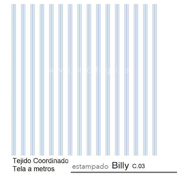 Tejido Coordinado BILLY c.03 de Reig Marti.