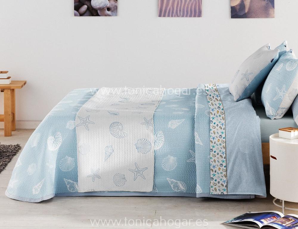 Comprar Colcha CHESNA Azul de Cañete online