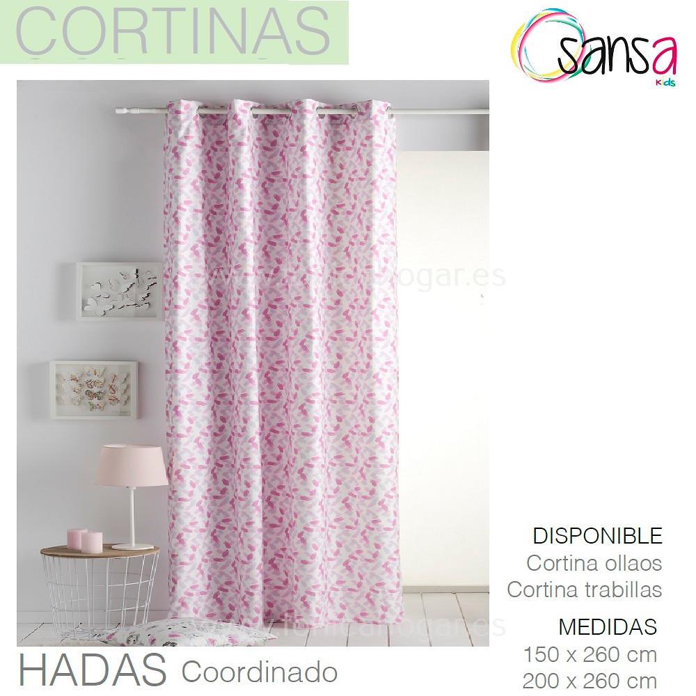 Cortina Confeccionada HADAS Coordinado de SANSA.