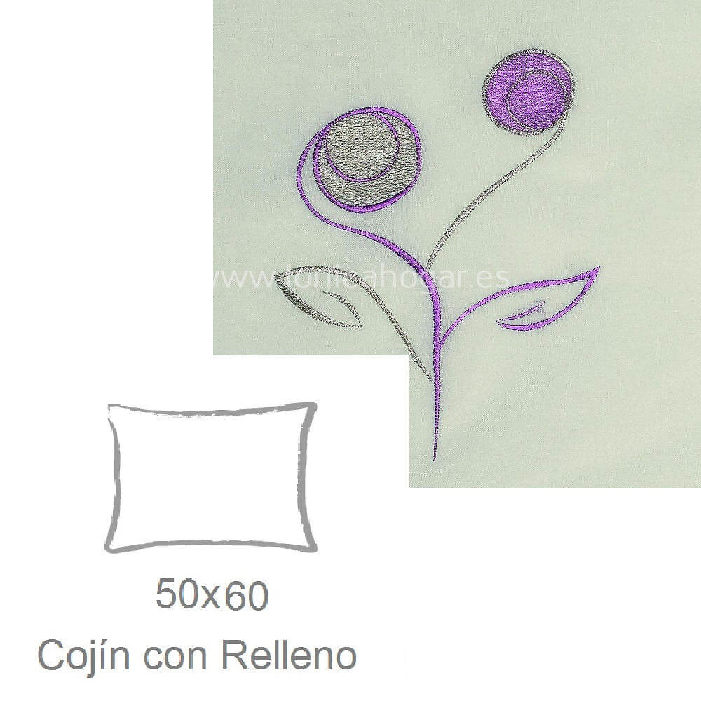Cojín Ornella c.160 de Tejidos J.V.R..