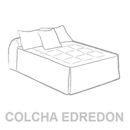 Colcha Edredón Tejidos J.V.R.