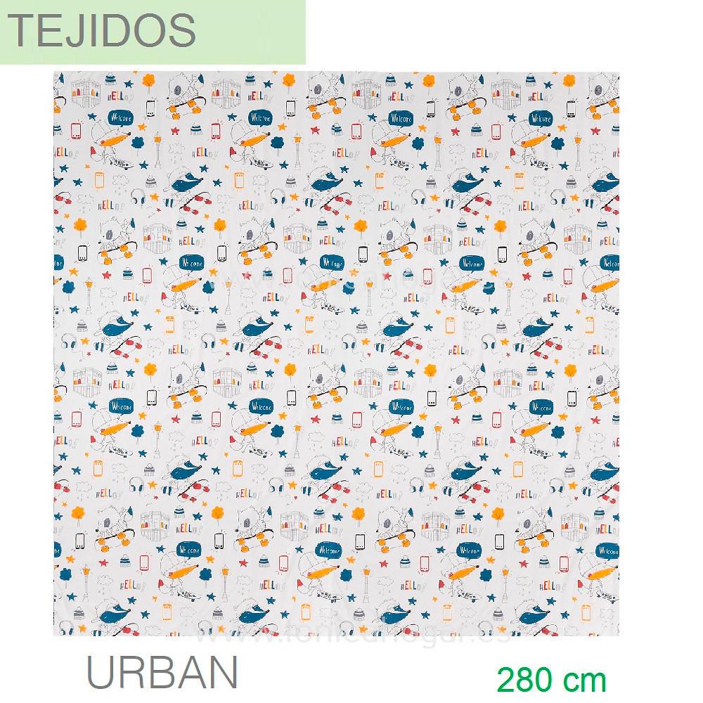 Tejido URBAN de SANSA.
