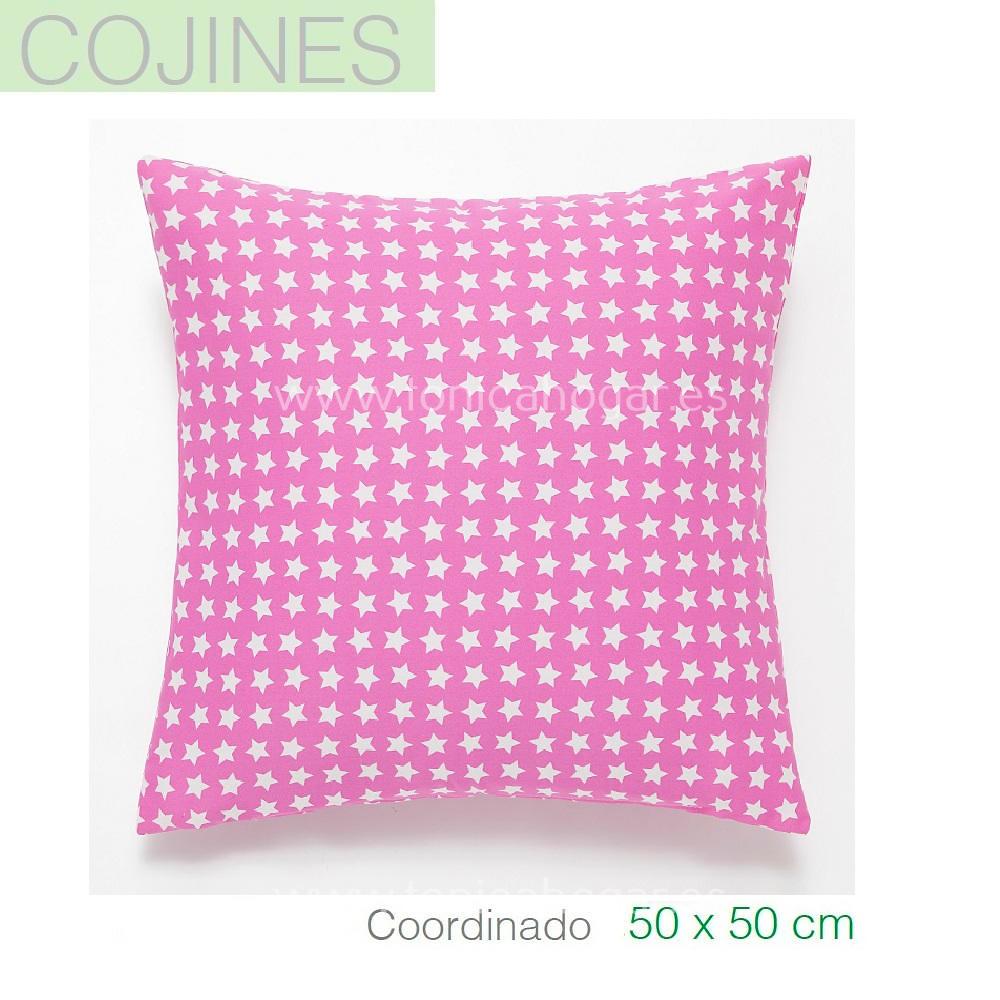 Funda Cojín Princesas Coordinado color Rosa de SANSA.