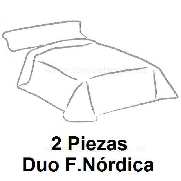Duo Funda Nórdica Reversible Tejidos J.V.R.