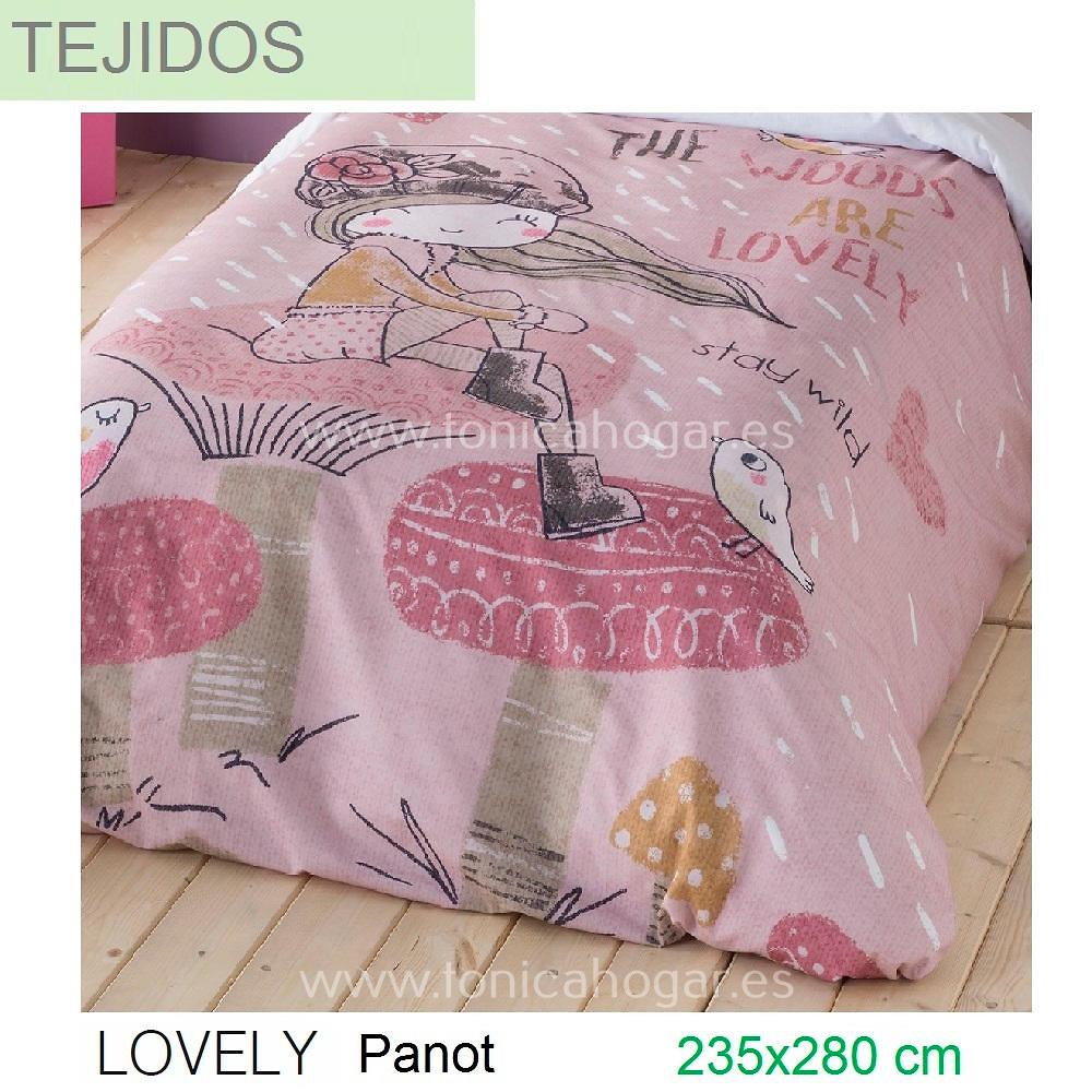 Tejido LOVELY PANOT de SANSA.