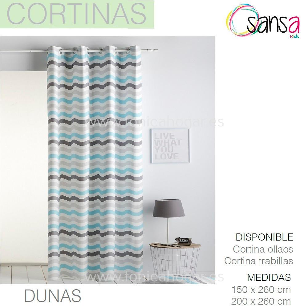 Cortina Confeccionada DUNAS color 3 de SANSA.