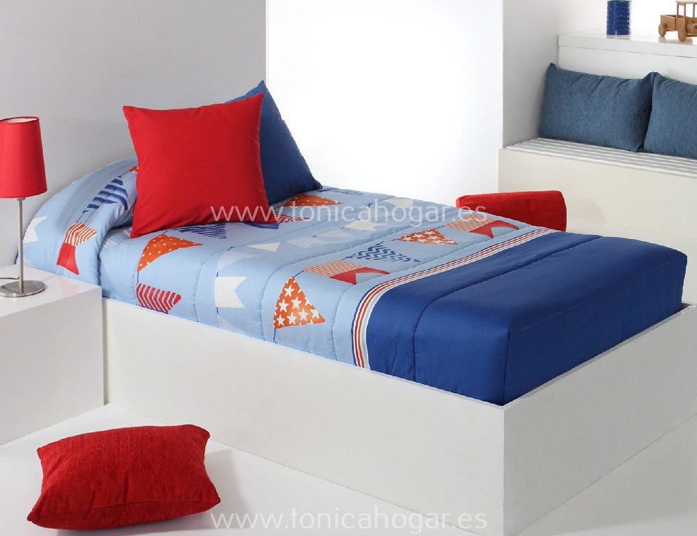 Edredón Ajustable FLAG AG Azul de Reig Marti