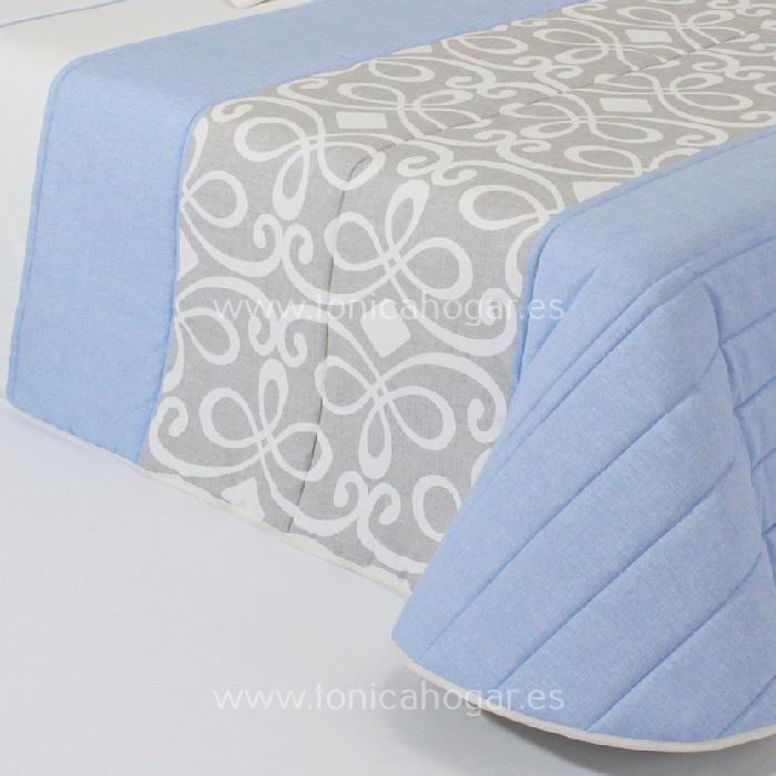 Detalle Edredón Boutie GRANDY 2A C.03 Azul de Reig Marti