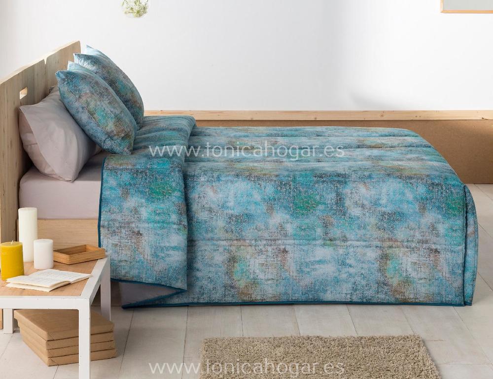 comprar Edredón Conforter Moderno BRUSELAS Azul de Sansa online