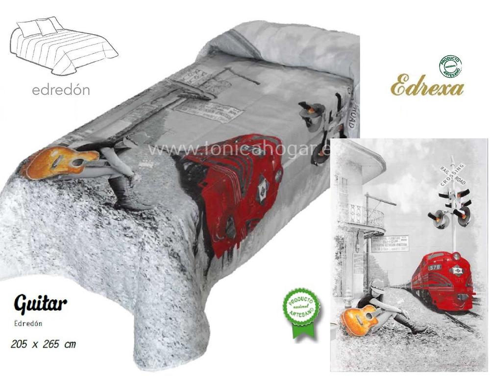 comprar Edredón Conforter Infantil Guitar Rojo de Edrexa online