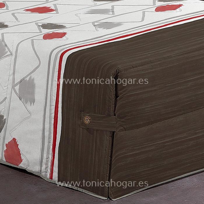 Detalle Edredón Conforter WARDA 02 C.02 Fucsia de Reig Marti