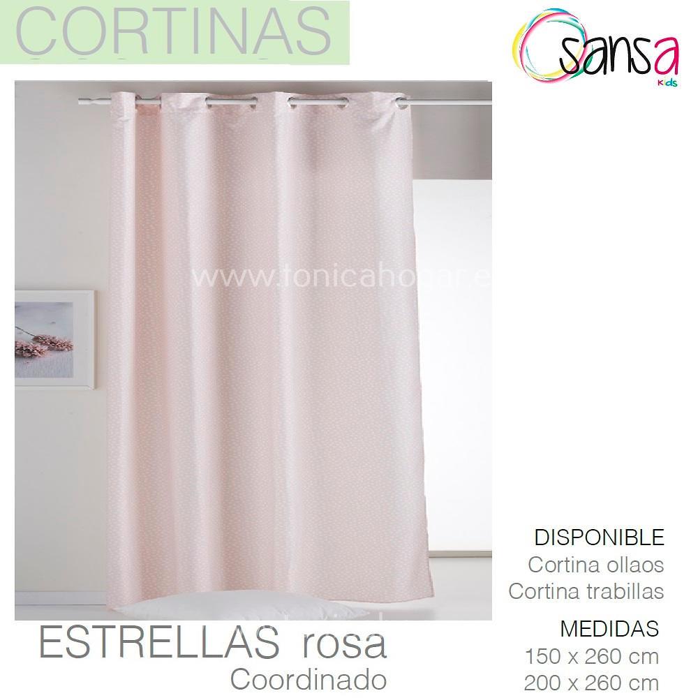 Cortina Confeccionada ESTRELLAS Coordinado color 2 de SANSA.