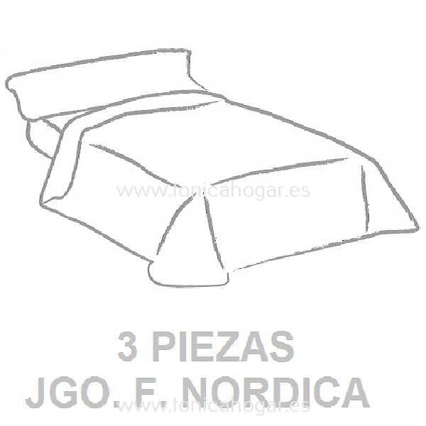 Juego Funda Nórdica Tejidos J.V.R.