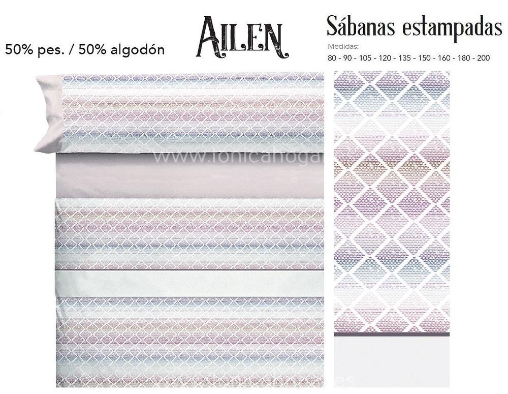 Comprar Juego Sabanas AILEN Coral de Cañete online