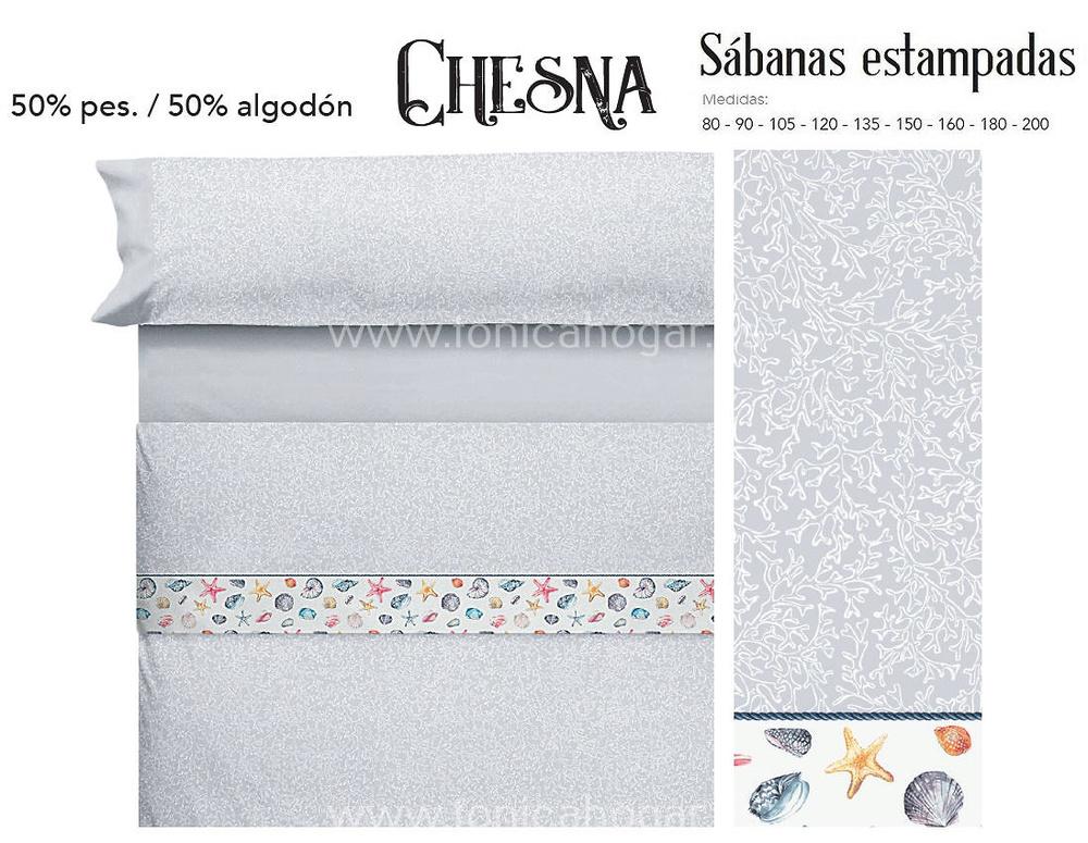 Comprar Juego Sabanas CHESNA Gris de Cañete online