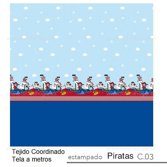 Tejido Coordinado PIRATAS c.03 de Reig Marti.