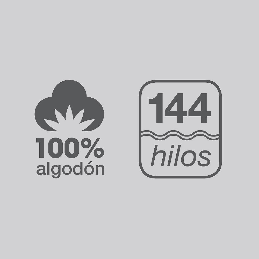 Composición 100 % Algodón 144 hilos