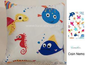 Cojin Nemo CT de Castilla Textil