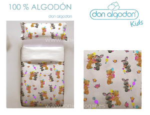 Duo Funda Nórdica SOFT TOY de DON ALGODÓN