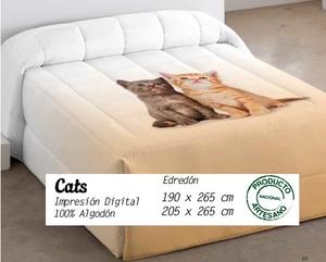 Edredón Conforter Cats de EDREXA 300 grs.