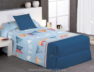 Edredón Conforter FLAG 02 Azul de Reig Marti