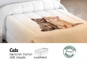 Edredón ajustable Cats de EDREXA