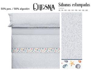 Juego Sabanas CHESNA Gris de Cañete
