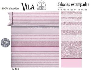 Juego Sabanas VILA Teja de Cañete