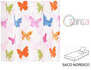 Saco Nordico MARIPOSAS Multicolor de SANSA