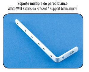Soporte Múltiple de pared Blanco